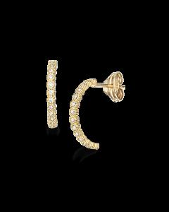 Havlcreol 8 Karat Guld Øreringe fra Scrouples 119503
