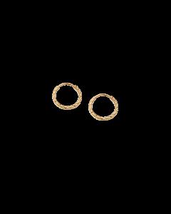 Scrouples Creol Facet 8 Karat Guld Øreringe 121103