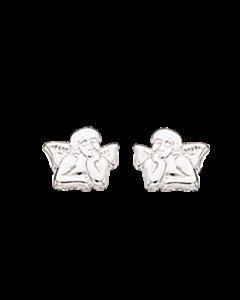 Engel Sterling Sølv Øreringe fra Scrouples 141122