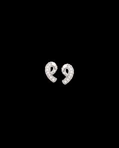 Rhodineret Sølv Ørestikker fra Scrouples 147072