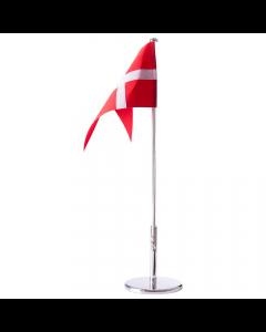 FORKROMET FLAGSTANG 40 CM MED BLANK FOD