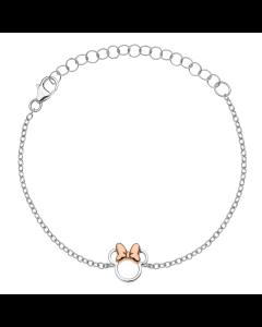 Minnie Mouse Sterling Sølv Børnearmbånd fra Støvring Design