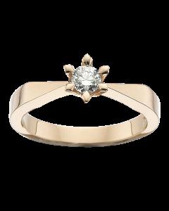 Victoria Ring 0,40 ct. i 14 Karat Guld fra Scrouples