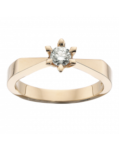 Victoria Ring 0,50 ct. i 14 Karat Guld fra Scrouples