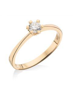 Vida Ring 0,03 ct. i 8 Karat Guld fra Scrouples 7813,03