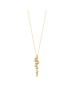 Moonlight Grapes 18 Karat Guld Halskæde fra Georg Jensen med Diamanter 0,05 Carat TW/VS
