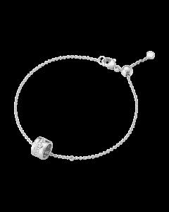 Georg Jensen Fusion 18 Karat Hvidguld Armbånd med Diamanter 0,11 Carat TW/VS
