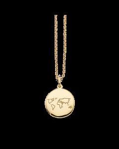 Verden Amulet 8 Karat Guld Vedhæng fra Scrouples