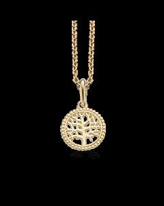 Scrouples Livets Træ Vedhæng i 8 Karat Guld 212283