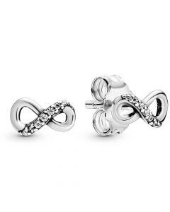 Infinity Sterling Sølv Ørestikker fra Pandora 298820C01