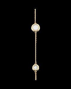 8 Karat Guld Armbånd fra Scrouples med Perlemor