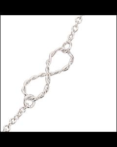 Sterling Sølv Halskæde fra Scrouples 35272,42