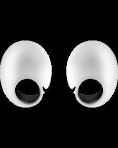 Georg Jensen Möbius øreringe - sterling sølv