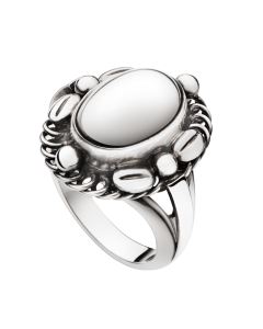 Moonlight Blossom Sterling Sølv Ring fra Georg Jensen