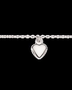 Scrouples Hjerte Rhodineret Sølv Armbånd 37552,18