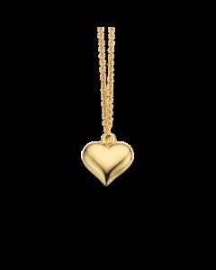 Hjerte Forgyldt Sølv Halskæde fra Scrouples 37562,45