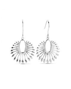 Phoenix Hanger Sterling Sølv Øreringe fra Spirit Icons