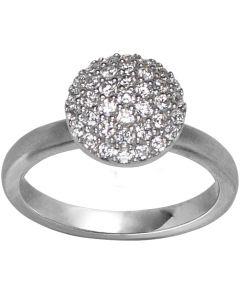 byBiehl Mini Sparkle Ring i Sterling Sølv 5-503A-R-H