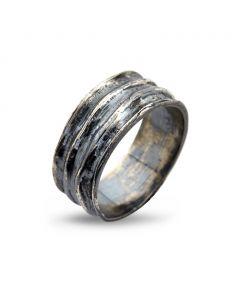 Mountaineer Sterling Sølv Ring fra By Birdie 50110188