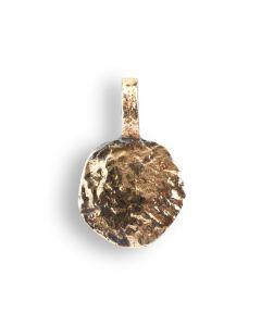 By Birdie Sif Coin Vedhæng i Sterling Sølv med 18 Karat Guld