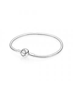 Pandora Moments Smooth Bangle Armbånd i Sterling Sølv