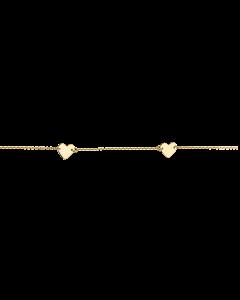 Scrouples Hjerte 8 Karat Guld Armbånd 601903