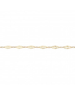Scrouples 8 Karat Guld Armbånd 602243