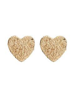 Sparkling Heart Forgyldt Sølv Ørestikker fra Christina Watches