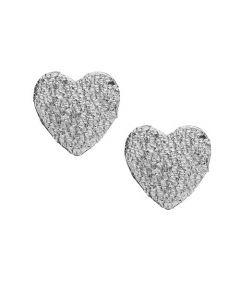 Christina Watches Sparkling Hearts Sterling Sølv Ørestikker