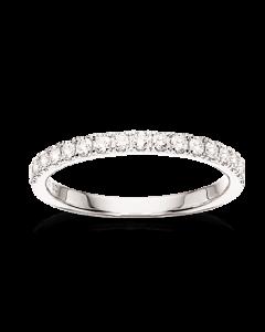 Dazzling 14 Karat Guld Ring fra Scrouples med Diamanter 0,32 Carat H-W/SI