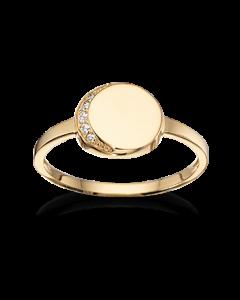 8 Karat Guld Ring fra Scrouples 711183