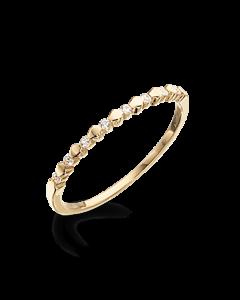 Scrouples Ring i 8 Karat Guld 711333