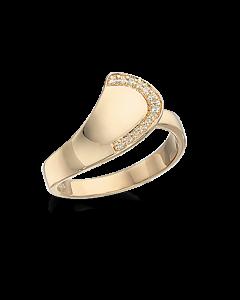 Scrouples Ring i 8 Karat Guld 711523