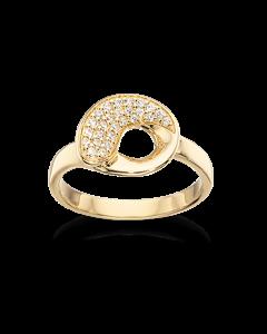 Scrouples Ring i 8 Karat Guld 711553
