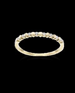 Hjerter 8 Karat Guld Ring fra Scrouples 712183