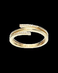 8 Karat Guld Ring fra Scrouples 712283
