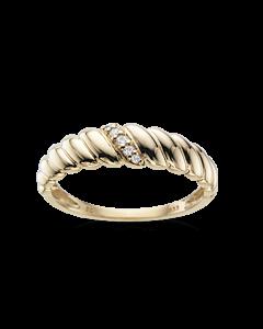 Scrouples Ring i 8 Karat Guld 712303