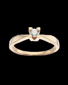 Kleopatra Ring 0,15 ct. i 14 Karat Guld fra Scrouples