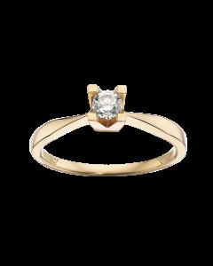Kleopatra Ring 0,20 ct. i 14 Karat Guld fra Scrouples