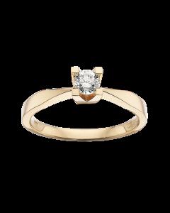 Kleopatra Ring 0,25 ct. i 14 Karat Guld fra Scrouples