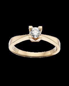Kleopatra Ring 0,30 ct. i 14 Karat Guld fra Scrouples