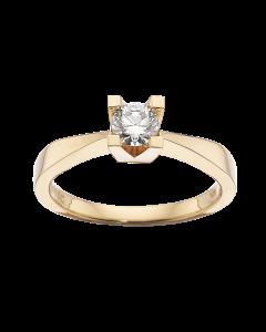 Kleopatra Ring 0,35 ct. i 14 Karat Guld fra Scrouples
