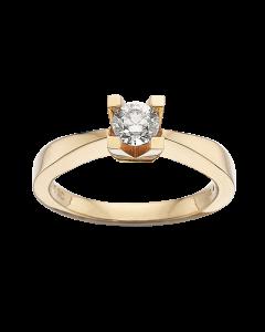 Kleopatra Ring 0,40 ct. i 14 Karat Guld fra Scrouples