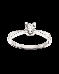 Kleopatra Ring 0,30 ct. i 14 Karat Hvidguld fra Scrouples
