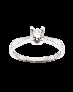 Kleopatra Ring 0,35 ct. i 14 Karat Hvidguld fra Scrouples