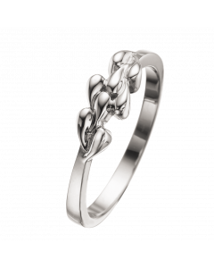Rhodineret Sølv Ring fra Scrouples 721992