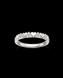 Scrouples Rhodineret Sølv Ring 725082