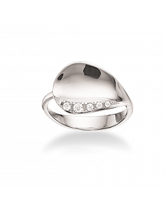 Scrouples Rhodineret Sølv Ring 725112