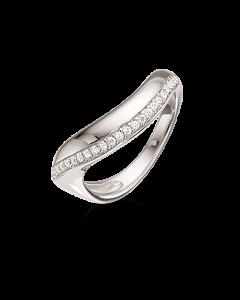 Scrouples Rhodineret Sølv Ring 725122