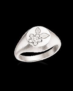 Scrouples Primavera Signet Ring i Sterling Sølv 725232